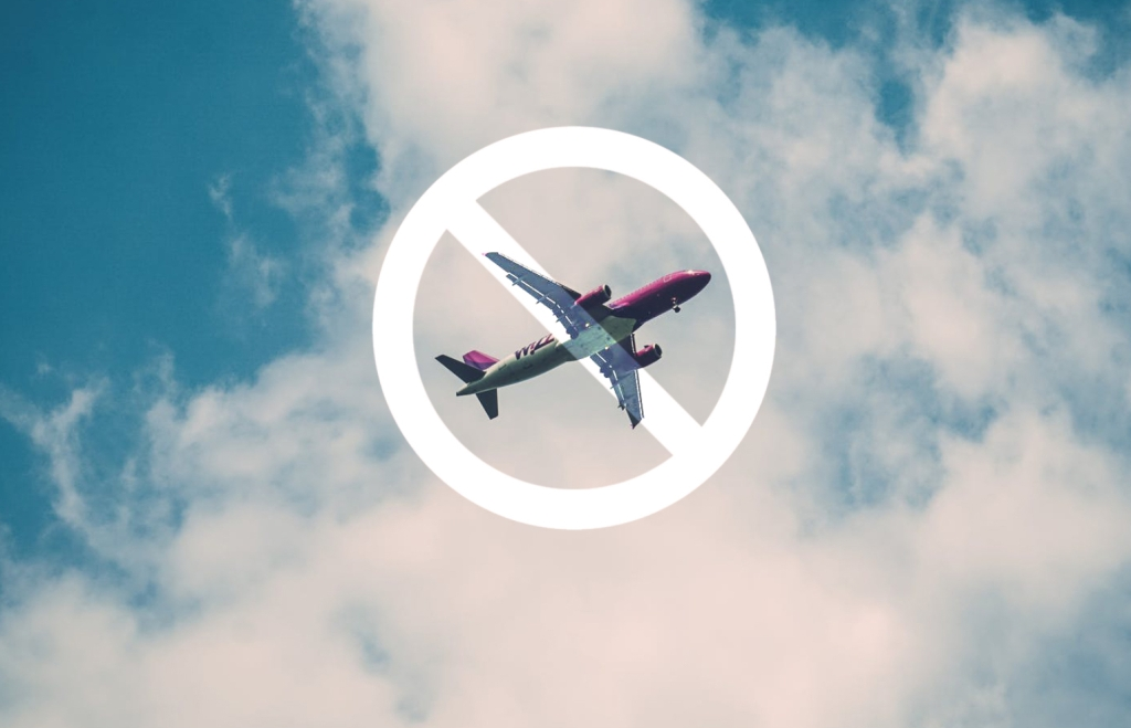 Prohibición de volar después de un buceo
