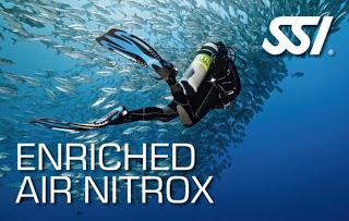 Enriched air nitrox PADI