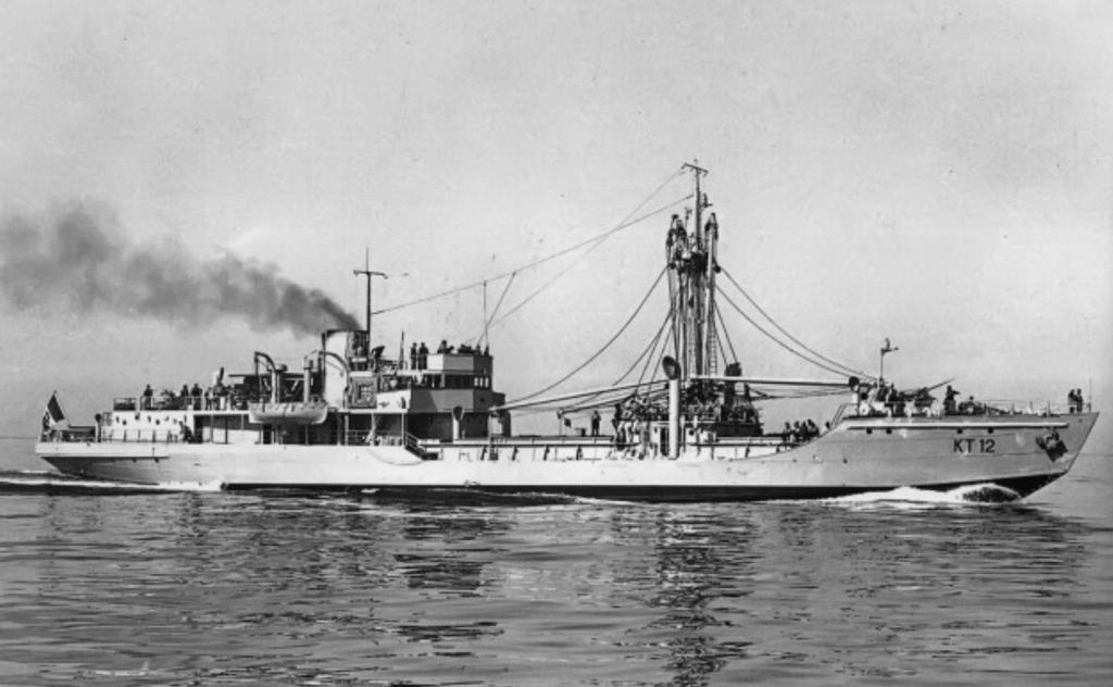 KT12 shipwreck