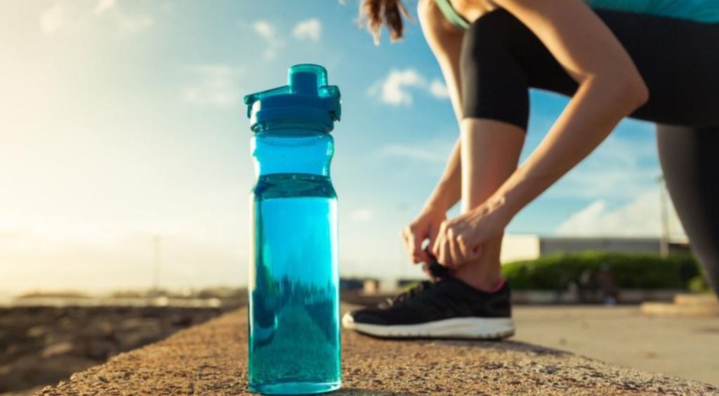 Hidratarse para entrenar